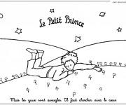Coloriage et dessins gratuit Le petit prince gratuit à imprimer