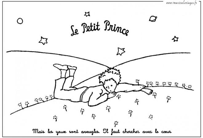 Coloriage et dessins gratuits Le petit prince gratuit à imprimer