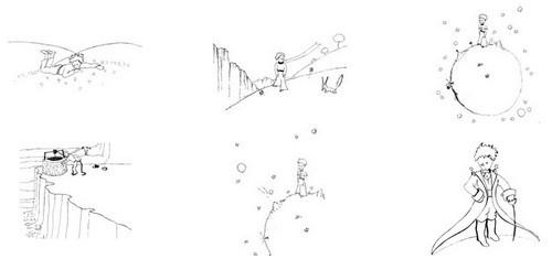 Coloriage et dessins gratuits Le petit prince livre en couleur à imprimer