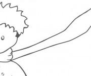 Coloriage et dessins gratuit Le petit prince saint exupéry à imprimer