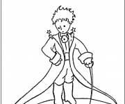 Coloriage et dessins gratuit Le petit prince simple à imprimer