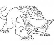 Coloriage dessin  Les croods 11