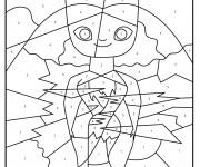 Coloriage dessin  Les croods 16