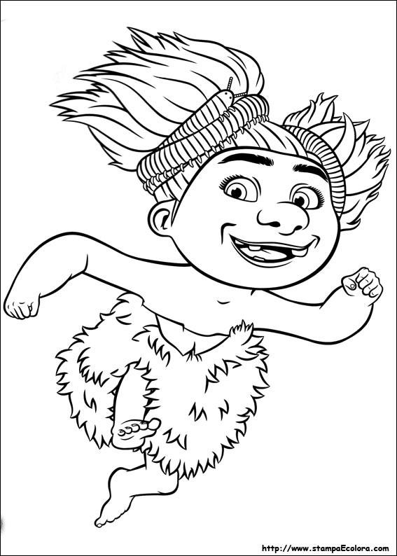 Coloriage et dessins gratuits Les croods 29 à imprimer