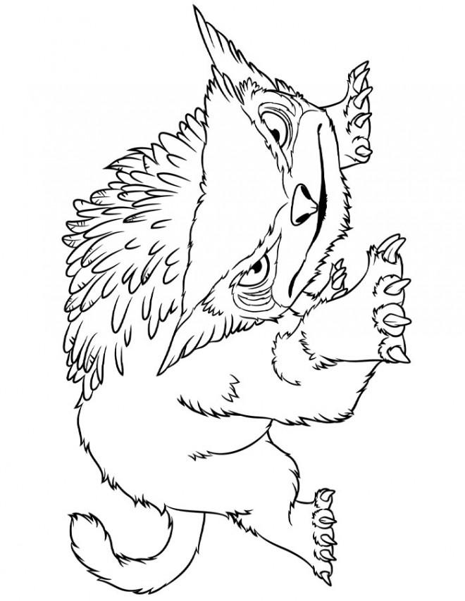 Coloriage et dessins gratuits Les croods à télécharger à imprimer