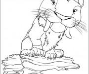 Coloriage et dessins gratuit Les croods en ligne à imprimer