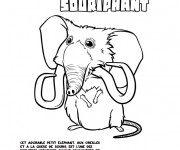Coloriage et dessins gratuit Les croods Souriphant dessin animé à imprimer