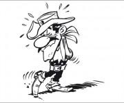 Coloriage Jack aime ses chaussures dessin animé