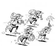 Coloriage dessin  Les Dalton 11