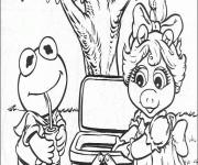 Coloriage dessin  Les Muppets 20