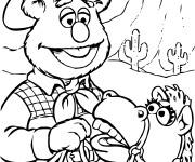 Coloriage dessin  Les Muppets 7