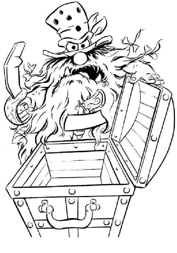 Coloriage et dessins gratuits sweetums le pirate en ligne à imprimer