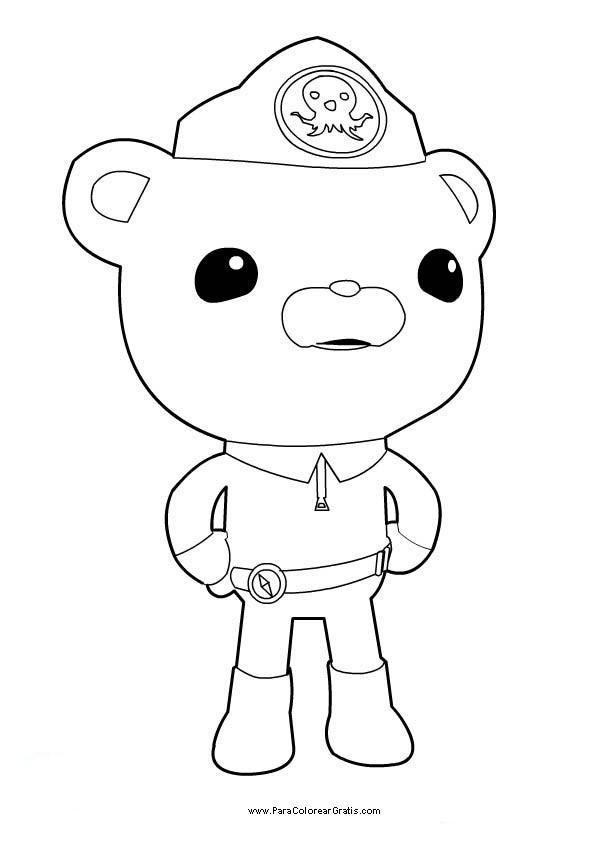 Coloriage et dessins gratuits Captain Barnacles facile à imprimer
