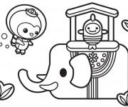 Coloriage dessin  Les Octonauts 13