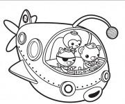 Coloriage les octonauts 14 dessin gratuit imprimer - Octonauts dessin anime ...