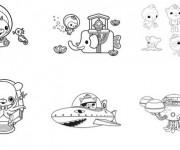 Coloriage dessin  Les Octonauts 18