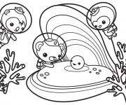 Coloriage dessin  Les Octonauts 2