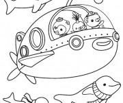Coloriage dessin  Les Octonauts 3