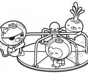 Coloriage dessin  Les Octonauts 5