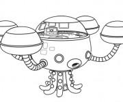 Coloriage dessin  Les Octonauts 6