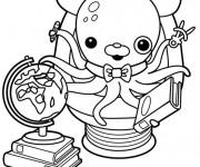 Coloriage dessin  Les Octonauts 8