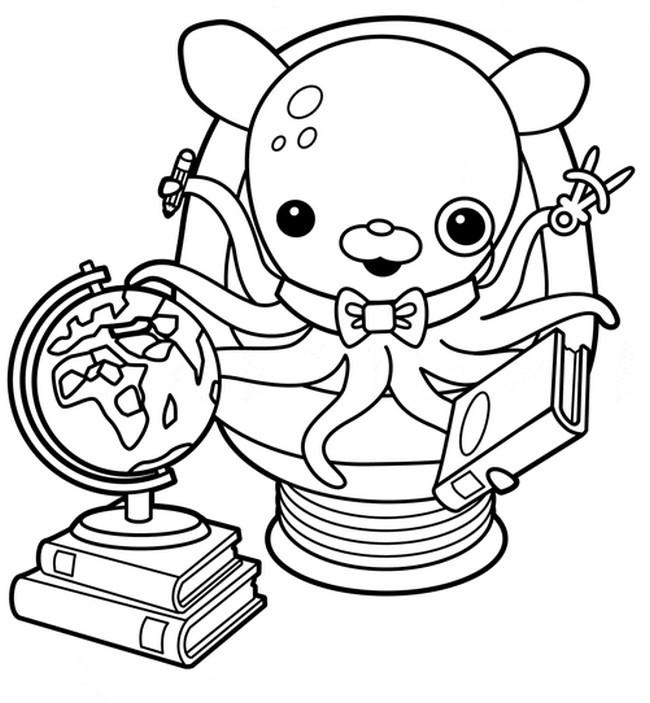 Coloriage les octonauts t l charger - Octonauts dessin anime ...
