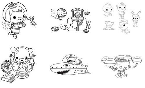 Coloriage les octonauts dessin en couleur dessin gratuit imprimer - Octonauts dessin anime ...