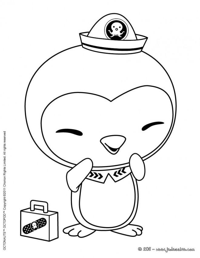 Coloriage et dessins gratuits Shellington en souriant à imprimer