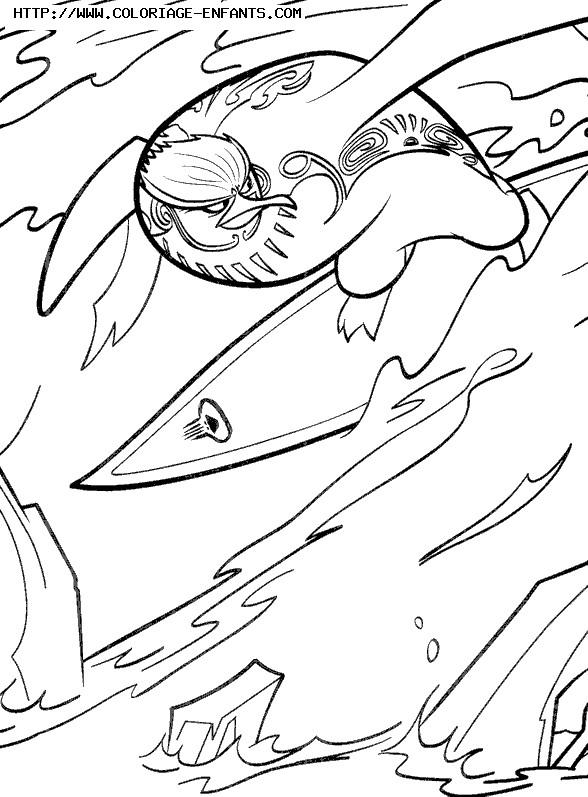 Coloriage et dessins gratuits Les Rois de la glisse Tank à imprimer