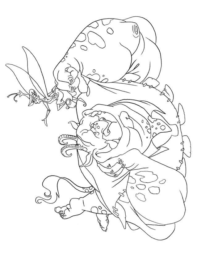 Coloriage et dessins gratuits Dessin Les Trolls à imprimer