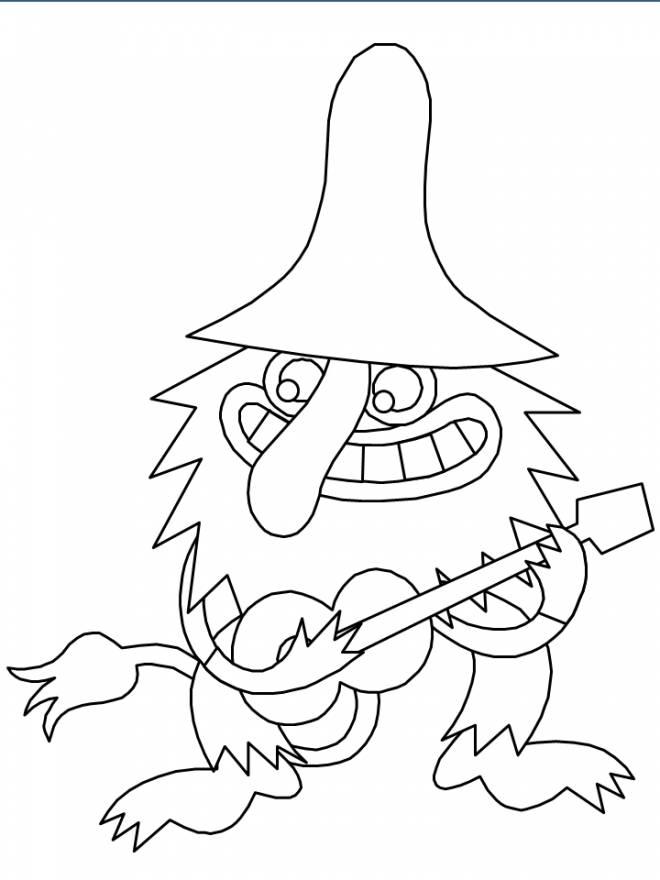 Coloriage et dessins gratuits Les trolls 24 à imprimer