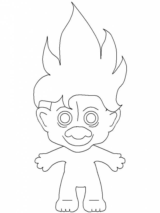 Coloriage et dessins gratuits Les trolls 26 à imprimer