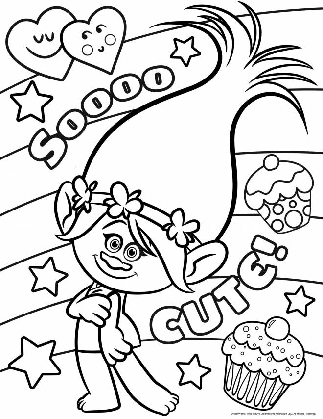 Coloriage et dessins gratuits Poppy à imprimer