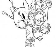 Coloriage dessin  Lilo et Stitch 15