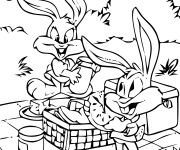 Coloriage Dessin Looney Tunes