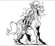 Coloriage dessin  Lucky Luke 10