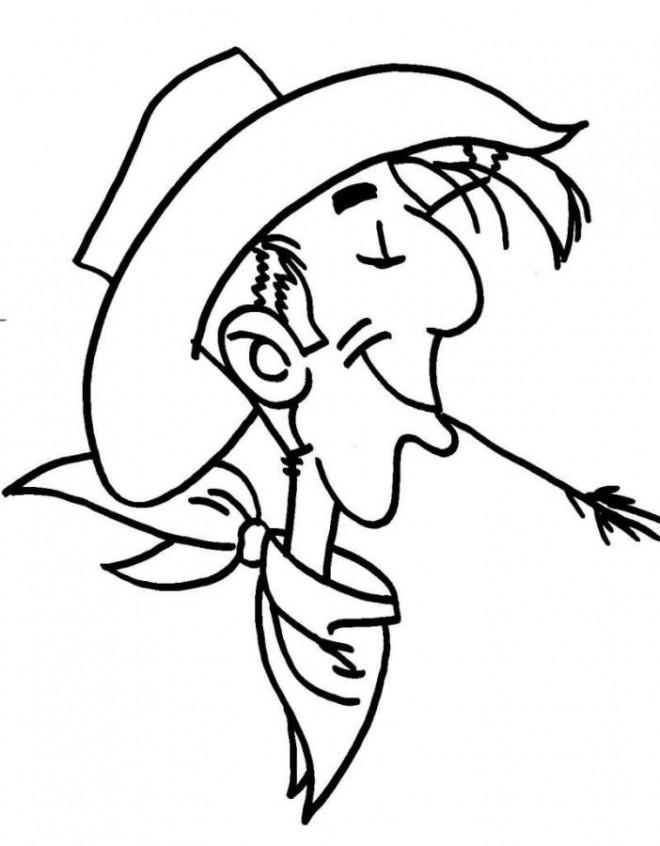 Coloriage et dessins gratuits Lucky Luke facile à imprimer