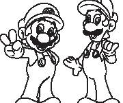 Coloriage dessin  Luigi 16