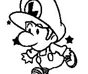Coloriage dessin  Luigi 18