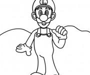 Coloriage et dessins gratuit Luigi coloriage à imprimer à imprimer