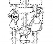 Coloriage Luigi et Daisy coloriage