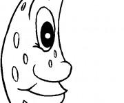 Coloriage dessin  Luna 5