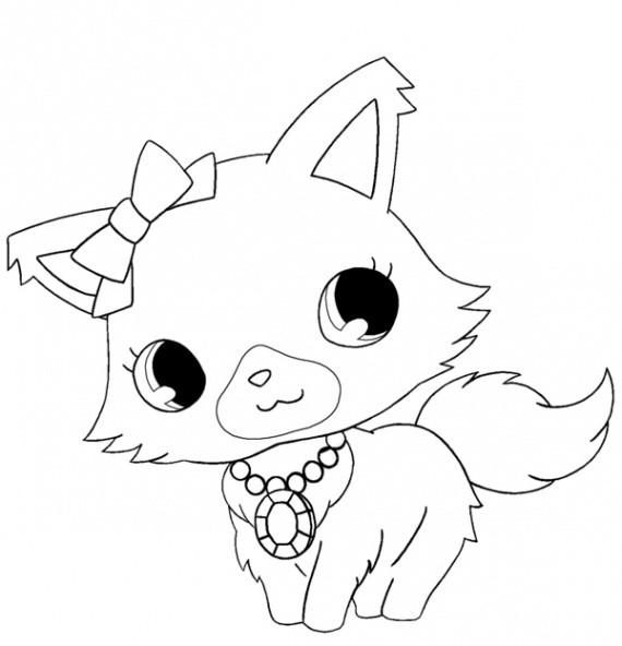 Coloriage et dessins gratuits Luna Chat à imprimer