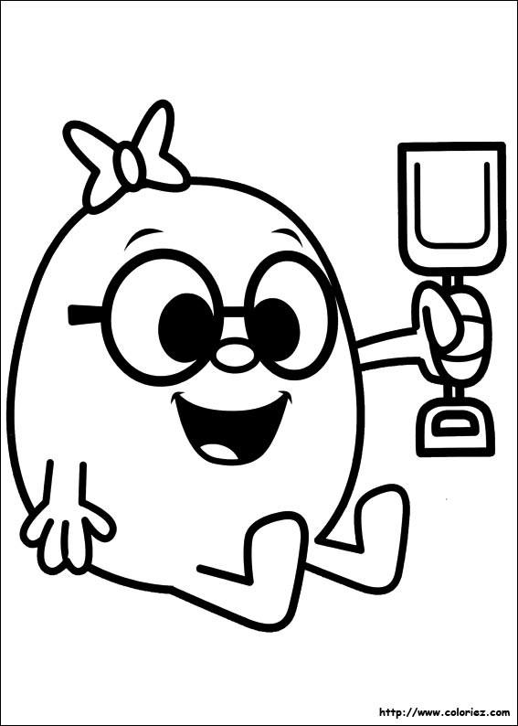 Coloriage et dessins gratuits Le Petit de Madame Patate à imprimer