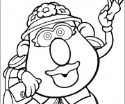 Coloriage Madame Patate te salue