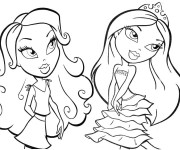 Coloriage Madame Princesse