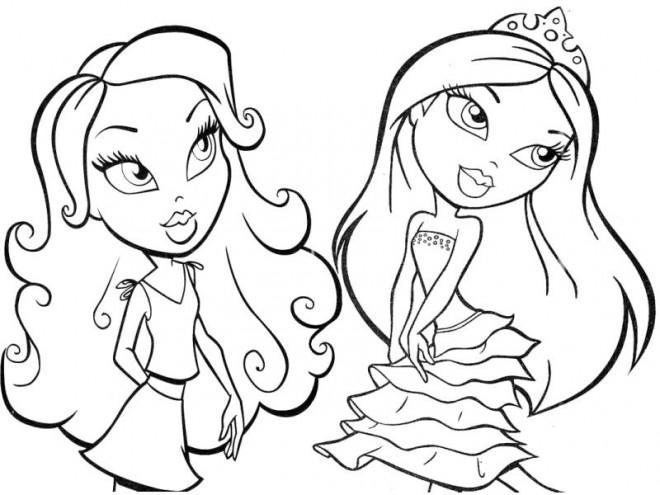 Coloriage et dessins gratuits Bratz dessin animé à imprimer