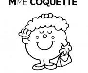 Coloriage et dessins gratuit Madame Coquette à imprimer