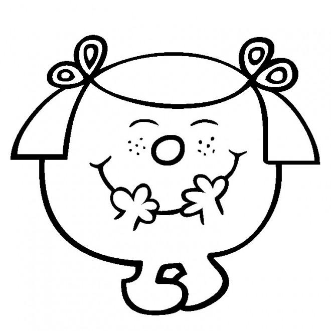 Coloriage et dessins gratuits Madame Princesse 5 à imprimer