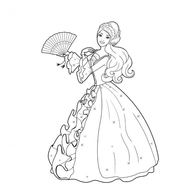 Coloriage Princesse Disney Dessin Gratuit A Imprimer